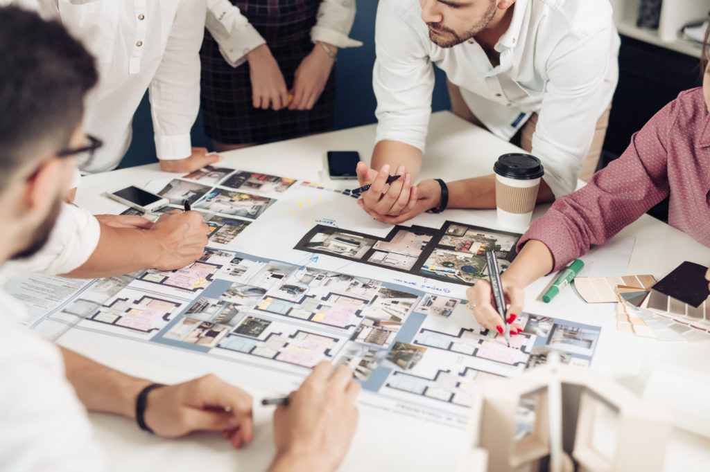 How to get the best interior designing job donee